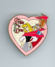 Disney This is Love Briar Rose Owl Squirrel Cape & Hat Sleeping Beauty LE Pin
