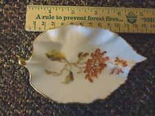 "Vintage Limoges Leaf Shaped Dish "" BEAUTIFUL COLLECTABLE USEABLE PIECE """