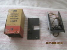 NOS 1949-1950-1951-1952 PONTIAC ASHTRAY AND FLOOR LIGHT-PART NUMBER 984658