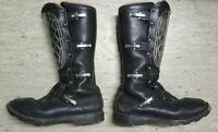Alpinestars Leder Stiefel / Leather Boots / mit Metallplatte/Gr.46 schwarz / RAR