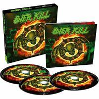 Overkill Live in Overhausen (2018) 2-CD+DVD Set Neu/Verpackt
