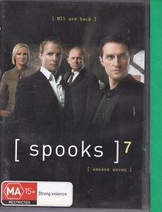 Spooks : Series 7 (AL, DVD, 2009, 4 Disc Set, Region 4) Season 7