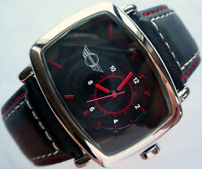 MINI John Cooper Works S JCW Racing Business Red Chilli Sport Design Style Watch