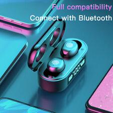 More details for tws wireless bluetooth 5.0 headphones earphones earbuds in-ear iphone samsung uk