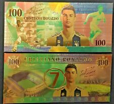 Cristiano Ronaldo *Collection*  24K gold-plated banknote