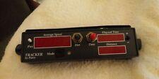 Kustom Signals Patco Tracker Dash Mounted Radar Average Speeddistance Display