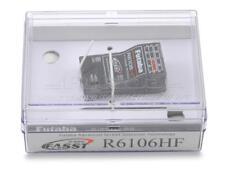 Futaba R6106hf Micro FASST 2.4ghz Récepteur RX Futl7650 14sg 8fg 7c Tm8 18mz