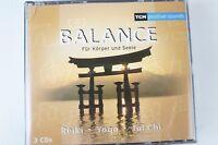 Balance für Körper und Seele Reiki Yoga Tai Chi 3CD CD67