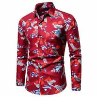 T-shirt Men's Fit Stylish Long Sleeve Fashion formal casual Tops Luxury Dress