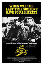AUTOGRAPHED HENRY WINKLER LORDS OF FLATBUSH MOVIE POSTER 24-36 ASI CERTIFIED