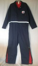 American Airlines Lined Coveralls Jumpsuit Mechanic Runway Employee XL 46-48