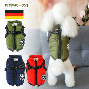 Wasserdicht Haustier Kleidung Hundejacke Wintermantel Regenmantel Weste Hund DE