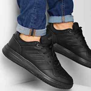 Adidas Gametalker Mens Trainers Shoes Triple Black