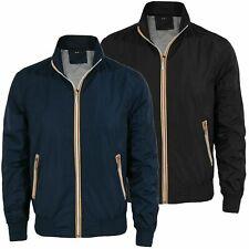 Giubbotto uomo primaverile estivo leggero giacca impermeabile s m l xl xxl