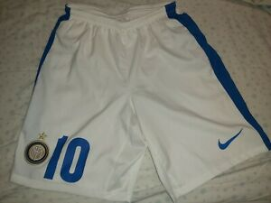 Pantaloncino Inter Match Worn/preparato Per Kovacic 10 Tg M