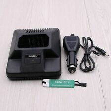 Fit Motorola HTN9804A 10-Hour Charger 220V Charger GP300 GP350 GP600 GTX LTS2000