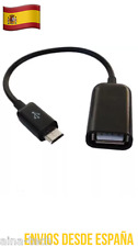 Cable Adaptador Micro OTG ON THE GO USB 2.0 Hembra Datos TABLET Smartp CALIDAD