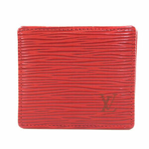 LOUIS VUITTON  M63697 coin purse Portomone Bowat Epi Epi Leather
