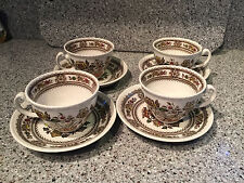Wood & Sons Dorset Cup and Saucer, Made in England Set of 4