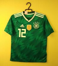 Germany jersey shirt #12 2018 Home adidas football soccer s. Kids L 13 -14 Years