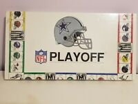 Vintage Monopoly Team NFL Playoff Board Game - 1991 COWBOYS NEW