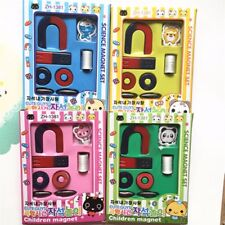 8pcs/set Traditional U Shape Horseshoe Magnet Kid Toy Stocking Filler Party Bag