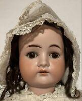 """Cuno Otto Dressel 1912-4 Antique Bisque German 23"""" Doll"""