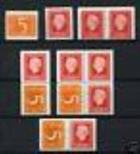 Nederland alle combinaties  uit  postzegelboekje 14  postfris/MNH