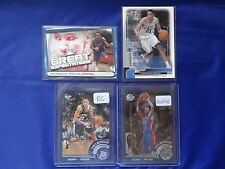 LOT OF 4 2002/2003 TOPPS TAYSHAUN PRINCE CARD 207, CHROME 144, MVP 215, 04 GE-TP
