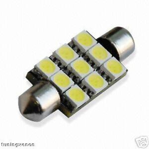 navette à 9 led smd HP-LED 41mm - eclairage 360 degré