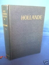 Holland Blue Guide - French - 1964 - Maps HB