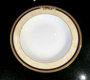 Beautiful Wedgwood Cornucopia Rimmed Soup Bowl