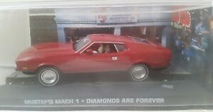 fabbri 007 mustang mach 1 dimonds are forever - 007 car mustang mach 1