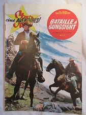 STAR CINE AVENTURES 70 BATAILLE A GUNGSIGHT  ANNEE 1961