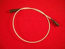 Zubehörteil für Zündtrafos Ausführung beiderseits 4 mm Anschlußstecker 500 mm lg