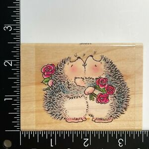 Penny Black Hedgehog You're a Treasure! 1589F Wood Mounted Rubber Stamp
