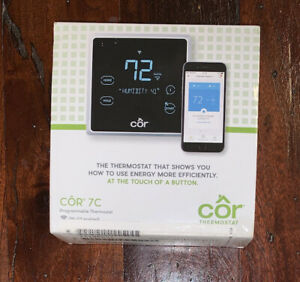 Carrier Cor 7c Programmable Thermostat TSTWRH01 NEW UNUSED