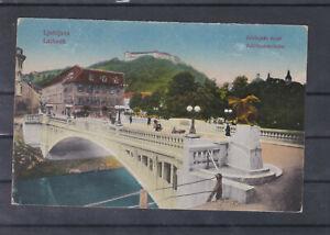 K & K Feldpostkarte Laibach gel. 1918