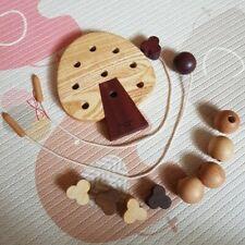 Soopsori Tree Sewing Kit, All-natural wood toy, safe, fun, beautiful. Used.