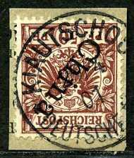 Kiautschou M 6 II  Paket-Briefstück  Kiautschou DP