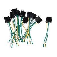 20PCS Auto Car 12V DC 40A/80A AMP Relay Harness Socket Plugs 4Pin 4 Wire
