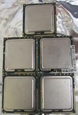 Lot of 5 intel XEON X5570 2.93GHZ / 8m / 6.40 SLBV6 processors