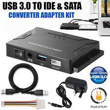 "Hard Disk Adapter Converter USB 3.0 to SATA/IDE 2.5"" 3.5"" External Converter"