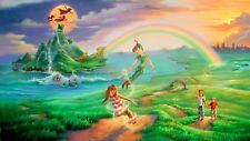 Peter Pan Poster Length :800 mm Height: 500 mm  SKU: 1131
