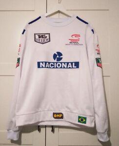 Sweatshirt collectible 1993 Ayrton Senna / Paris Bercy