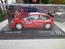 IXO / ALTAYA CITROËN C4 WRC RALLYE MONTE CARLO 2008 LOEB / ELENA neuf en boite