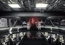 Giant Wallpaper 368x254cm Star Wars Destroyer Deck for Childrens Room Wall Mural
