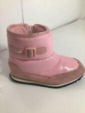 NIKE INFANT ANKLE BOOTS SIZEUK8. PINK