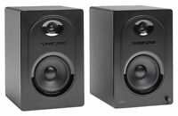 "Pair Samson M50 5"" Gaming Twitch Streaming Computer Speakers Monitors"