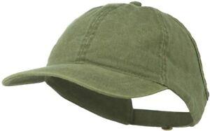 Otto Low Profile Ponycaps Washed Cotton Adjustable Ponytail Baseball Cap Hat